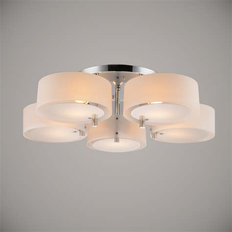 5 Light Ceiling Light by Modern Led Ceiling Light 5 Lights E27 E26 Acrylic Shades Led Flush Mount For Living Room