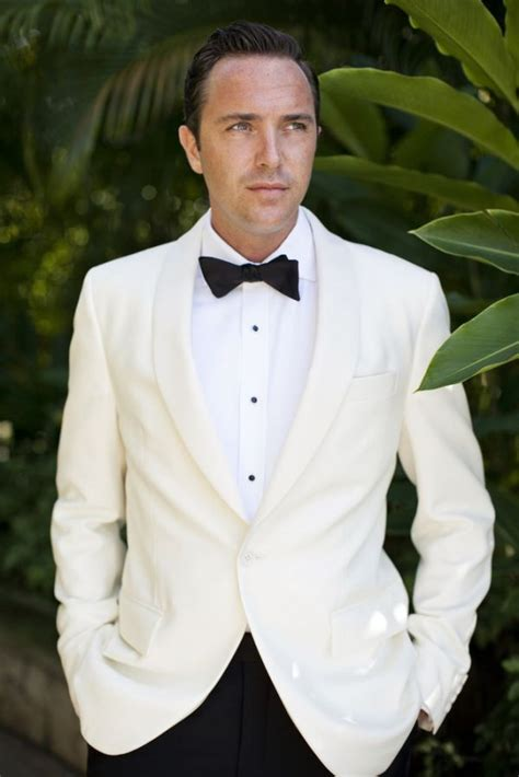 white tuxedo suit for a 1 year old jamaica wedding by raquel reis wedding the white and