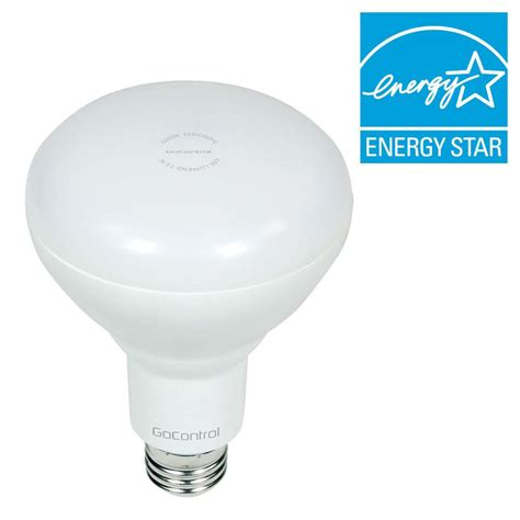 gocontrol z wave dimmable led light bulb gocontrol z wave 65w equivalence cool white br30 dimmable