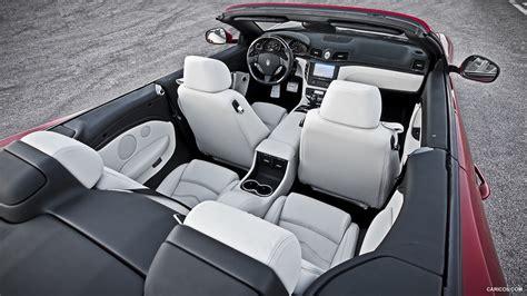 maserati sports car interior 2013 maserati grancabrio sport interior hd wallpaper 6