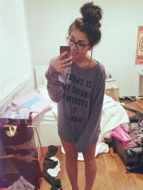 andrea russett room friday is my second favorite f word sweaters by god save la privilege clothing boutique
