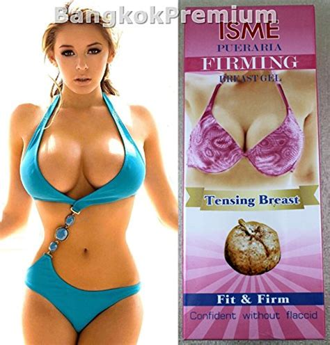 Bust Firmer And Larger pueraria mirifica breast gel enlargement tensing fit import it all
