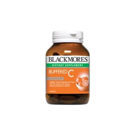 Blackmores Vitamin C Buffered 120tablet blackmores buffered c 500mg 75cap www siamcatalog