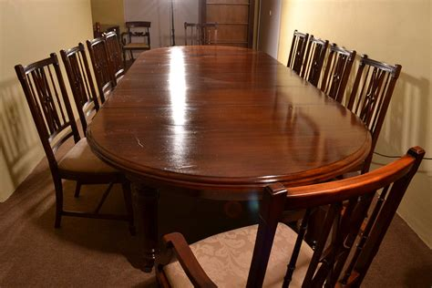 Regent Antiques Dining Tables And Chairs Table And Dining Table Set For 10