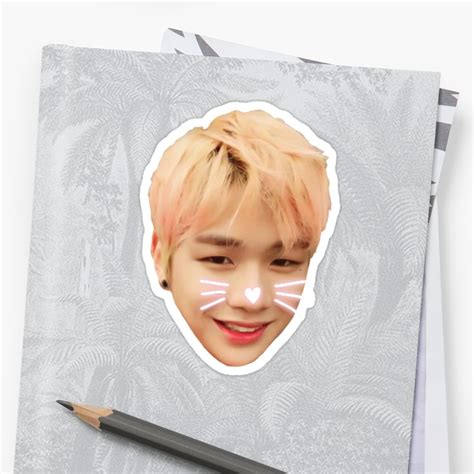 Sticker Wanna One quot wanna one produce 101 kang daniel quot stickers by