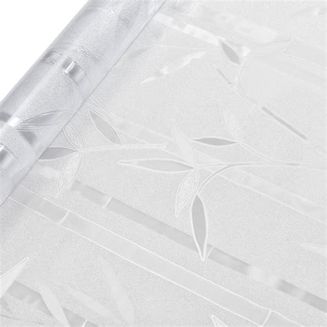Sichtschutzfolie Fenster 100 Cm Breit by Casa Pro 174 Sichtschutzfolie Milchglas Bambus 100 Cm X 2