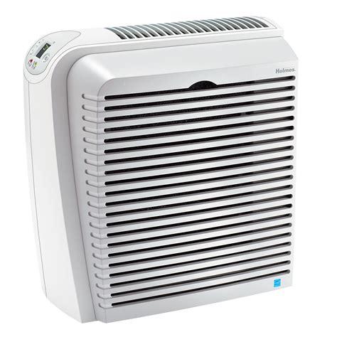 holmes allergen remover air purifier console  true hepa air filter white hap nu