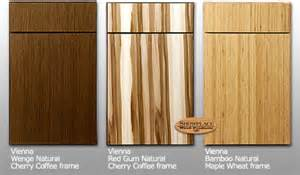 Exotic Wood Kitchen Cabinets by Showplace Cabinets Vienna Style Exotic Species