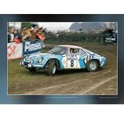 Renault Alpine A110 1800  Poster Rallywebshop RallyWebShop