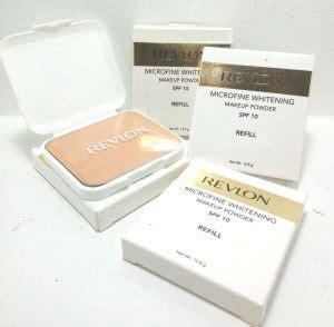 Revlon Microfine Whitening Makeup Powder 27 bedak pemutih wajah yang aman dan cepat