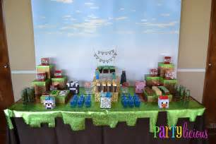 partylicious minecraft birthday
