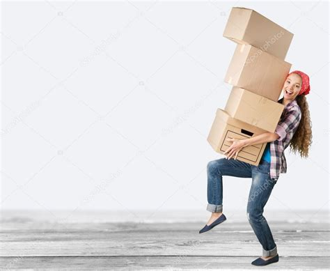 moving into a new house girl moving into new house stock photo 169 billiondigital 118530732