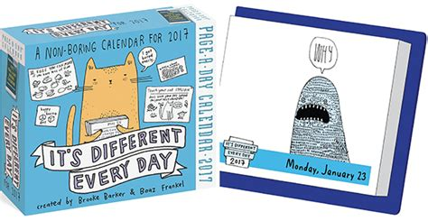 its different every day 0761193316 its different every day page a day calendar