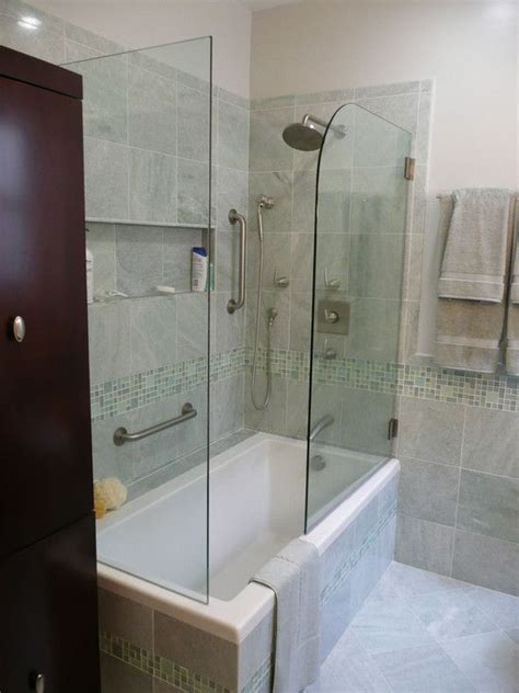 bathroom shower tub ideas 17 best ideas about tub shower combo on shower tub bathtub shower combo and shower