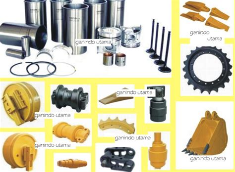 Spare Part Alat Berat spare part for komatsu and caterpillar ganindoutama