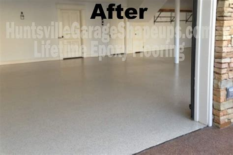epoxy garage flooring huntsville madison garage flooring