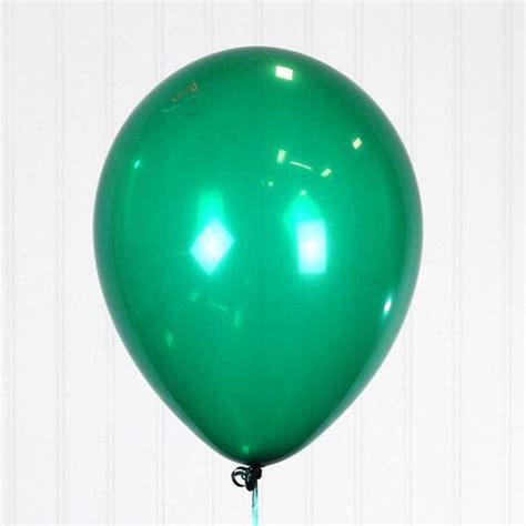 emerald green qualatex  latex balloon single balloon zurchers