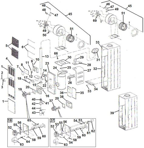 furnace parts diagram miller furnace parts breakdown pictures to pin on