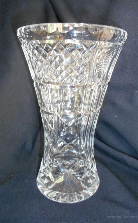 antiques atlas cut glass vase