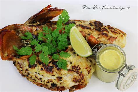 cuisine langouste plancha queues de langouste grill 233 es vinaigrette 224 la et