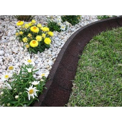 ecoborder  ft brown rubber landscape edging ecobrd brn
