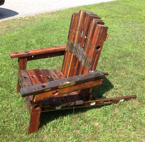 Handmade Adirondack Chairs - adirondack chair handmade from antique and vintage hardwood