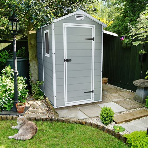 keter sheds keter manor 4 x 6 ft storage shed storage sheds at hayneedle