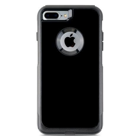 otterbox commuter iphone   case skin solid state black  solid colors decalgirl