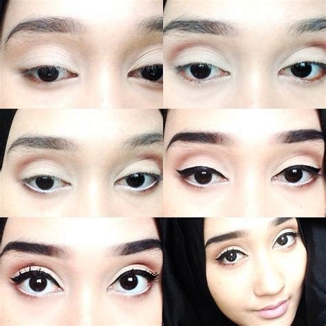 Eyeshadow Putih mugeek vidalondon net tutorial makeup mata wardah