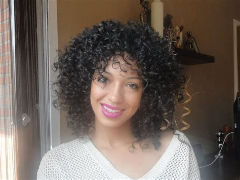 curly diva cut ouidad carve and slice curly cut review youtube