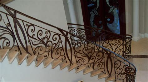 banister iron works stairs 187 v m iron works inc in the san jose bay area