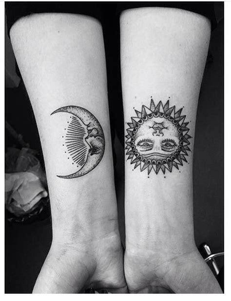 imagenes del sol y luna juntos tatuaje sol y luna espacio pinterest tattoo and tatting