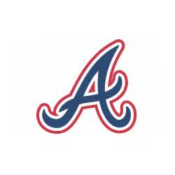 Customizable Wall Stickers atlanta braves cap logo decal sticker