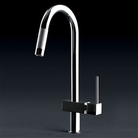 Hi Tech Kitchen Faucet by Quadro Hi Tech Kitchen Faucet From Gessi Contemporary