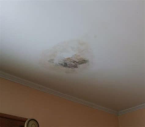 Ceiling From Leak by Water Leaking From Ceiling Bathroom And How To Fix