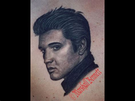 marshallbennett elvis eternal ink elvis presley elvis