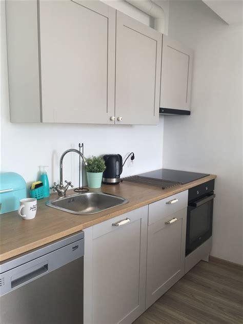 ikea gray kitchen knoxhult ikea grey kitchen house renovation pinterest