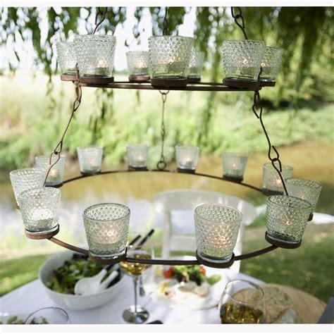 Hanging Tea Light Chandelier Shaker Metal Hanging Tea Light Chandelier By The Orchard Notonthehighstreet