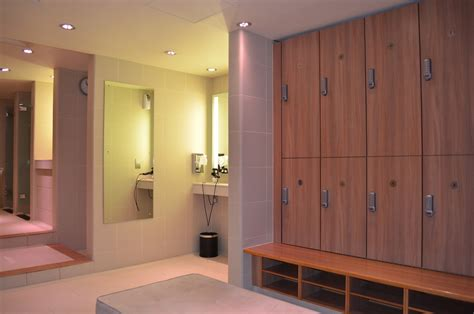 Changing Room by K Spa Holistic Spa Fitness Club Upgrades To Kitlock Digital Locker Locks Codelocks Digital