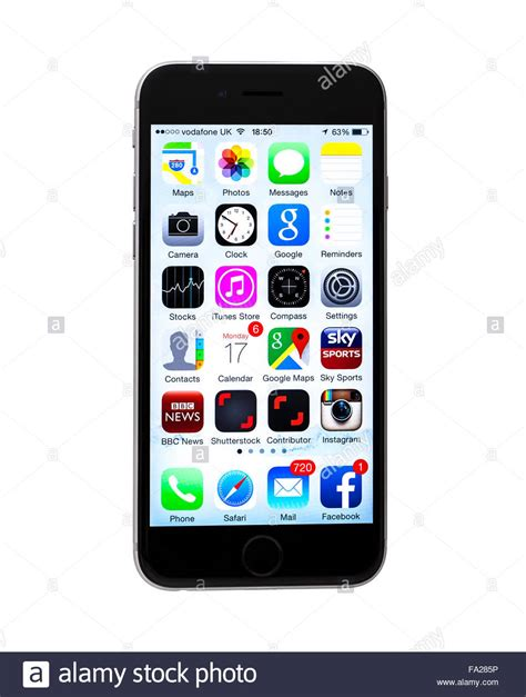 white background app the new apple iphone 6 on a white background showing the