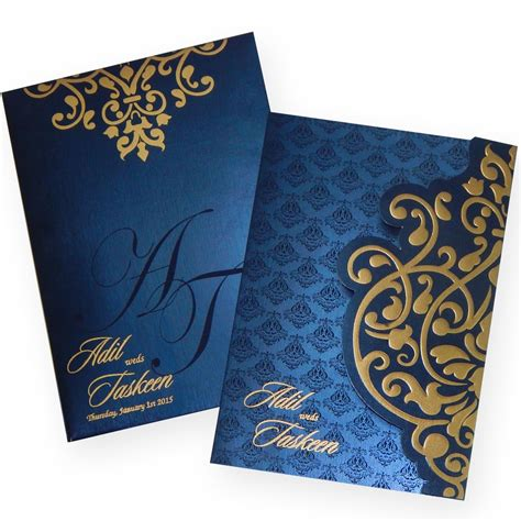w 1191 the wedding cards - Indian Wedding Cards
