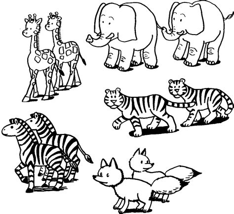 free animal coloring pages for toddlers coloring pictures of animals coloring ville