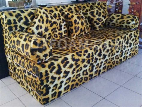 Sofa Bed Kasur Busa sofa bed leopard mantab https dtfoam sofa bed inoac