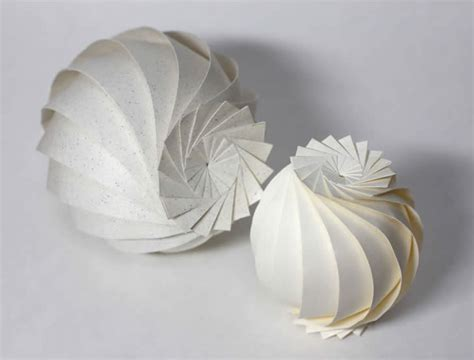 Paper Sphere Origami - intricate and minimalist origami xcitefun net