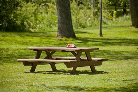 park bench com recycled plastic park picnic table