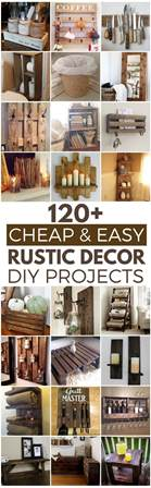 home decor stuff for cheap 120 cheap and easy diy rustic home decor ideas prudent