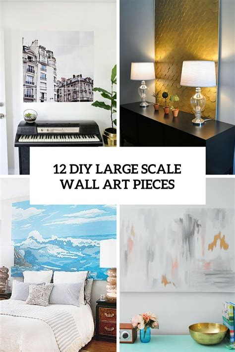decorating large walls large scale wall art ideas 12 eye catchy diy large scale wall art pieces shelterness