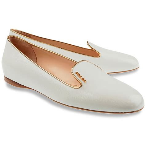 white loafers by prada shoes s slip on prada shoes