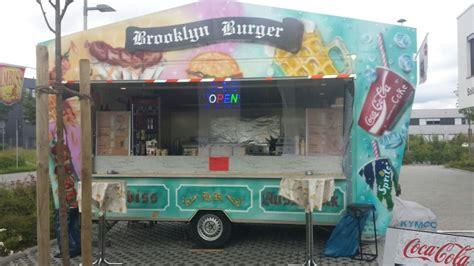 pommes wagen imbisswagen bratwurst currywurst pommes burger steak