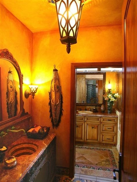 how to decorate your bathroom how to decorate your bathroom in mexican style interior